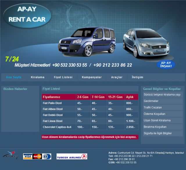 Apay Rent a car